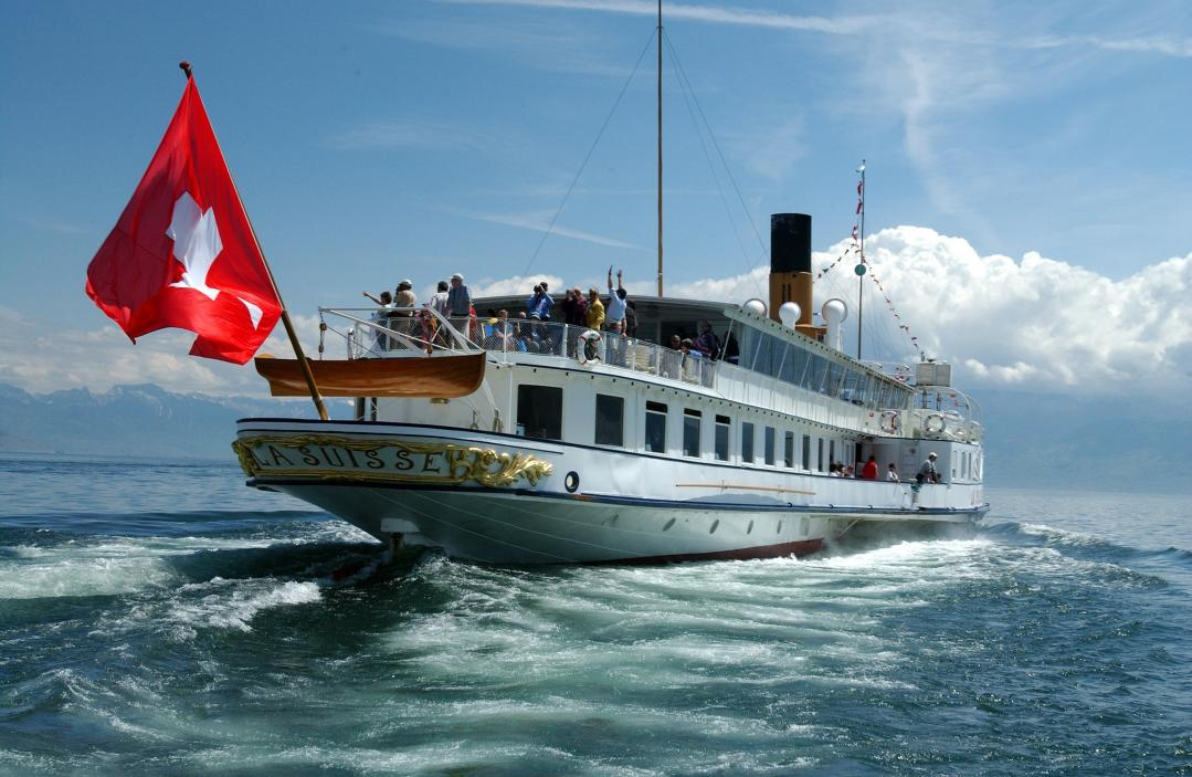 Cruise on Lake Geneva (CGN)