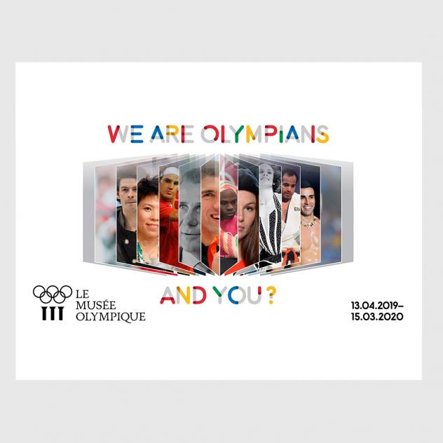 We are Olympians, and You? - © Musée Olympique