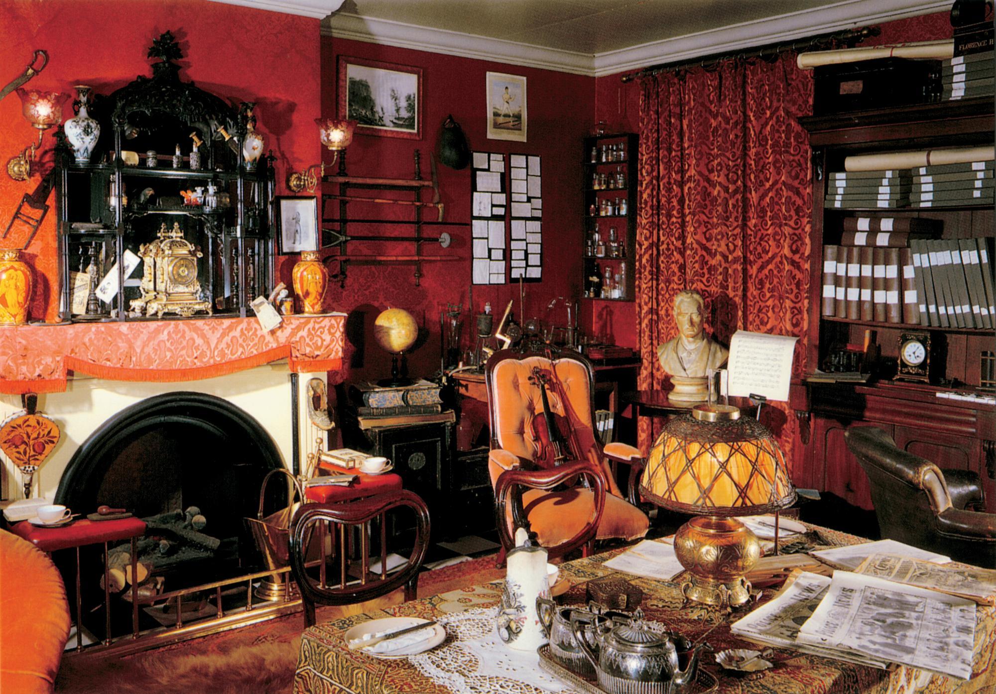 Sherlock holmes museum for Design hotel f 6 genf