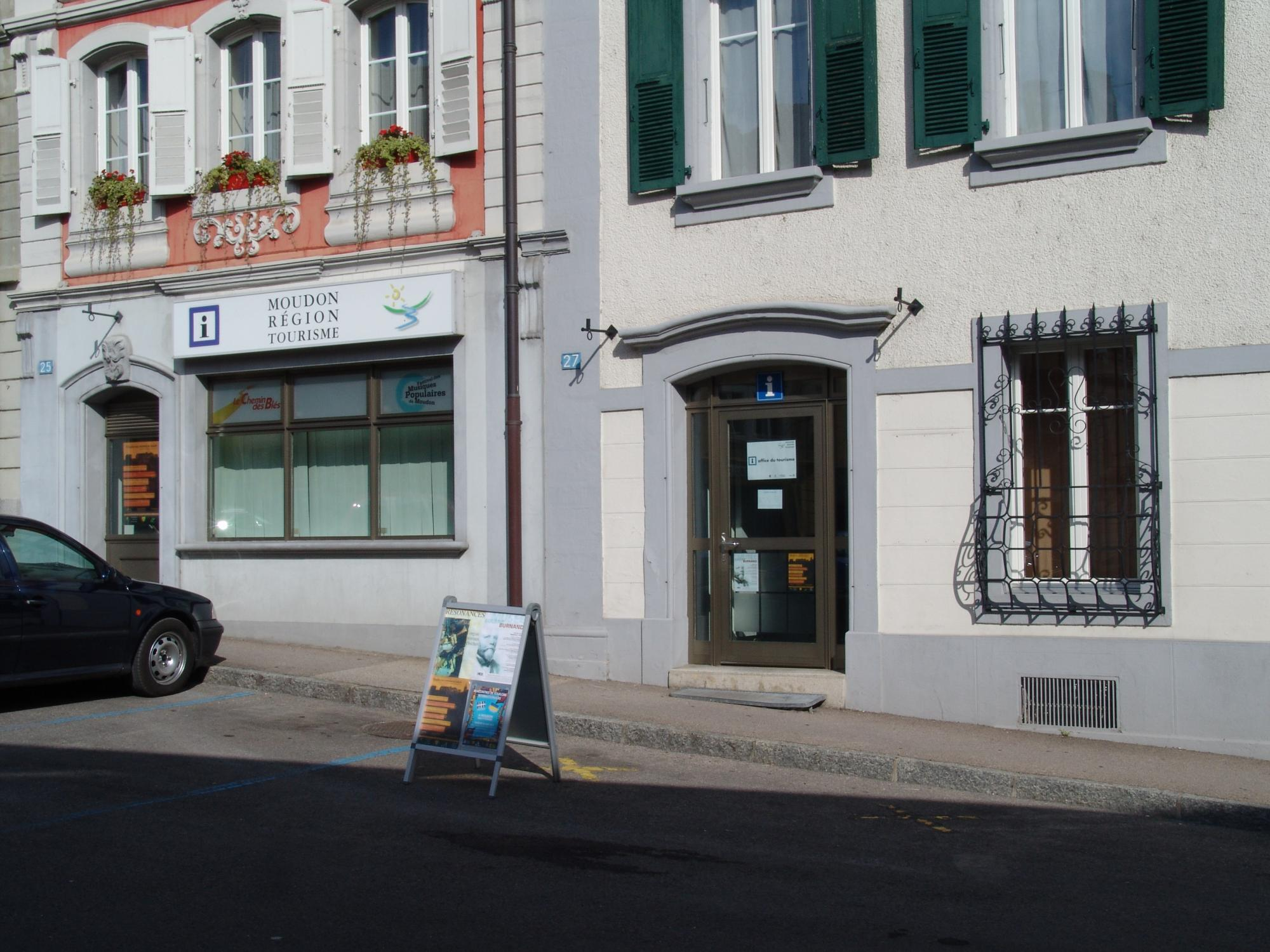 Office du Tourisme de Moudon
