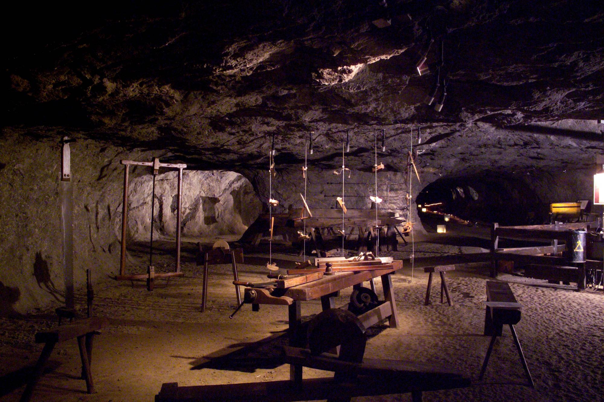 Alp Salt Mines