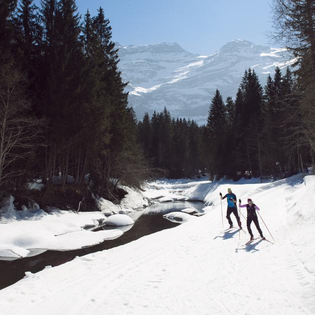 Cross-country skiing - Les Diablerets