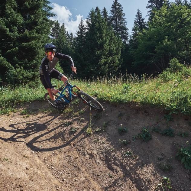 Downhill bike trails
