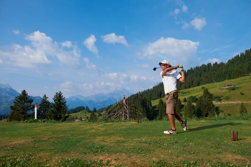 Let's take a swing – the Villars golf course
