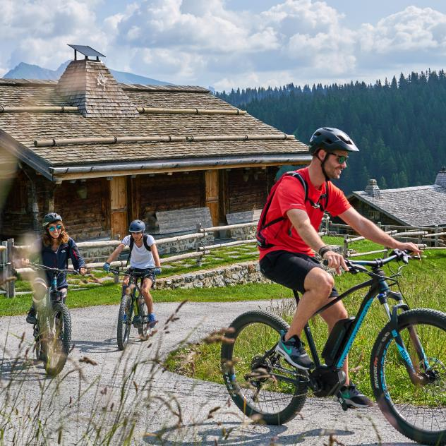 Mountain bike and e-Bike routes
