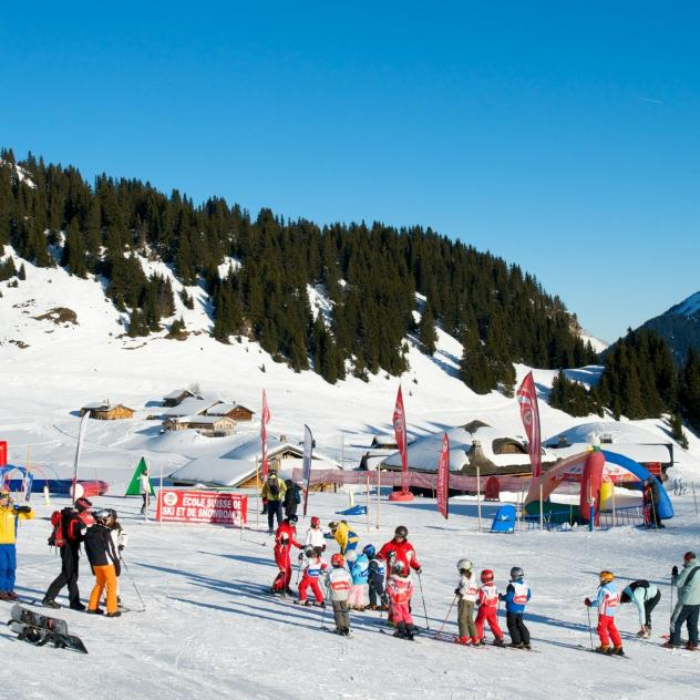 Swiss Ski School Snow Village in Bretaye