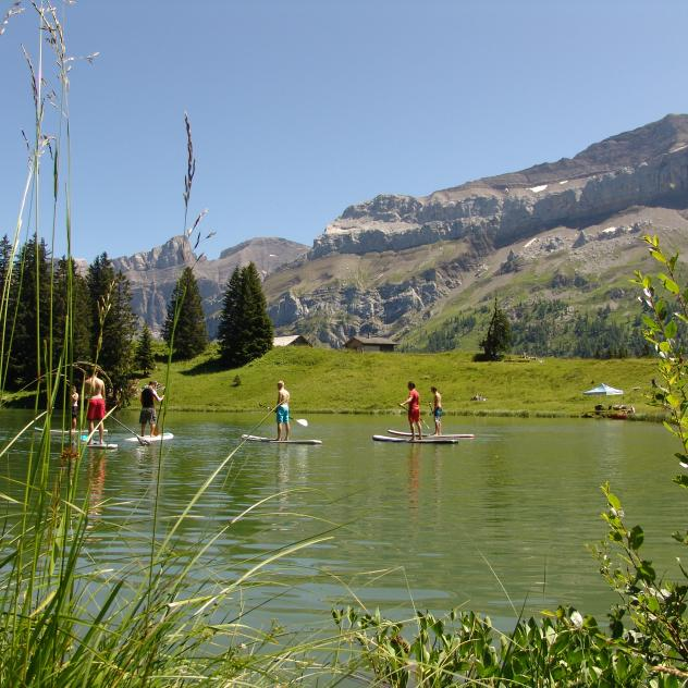 Stand up Paddle au Lac Retaud