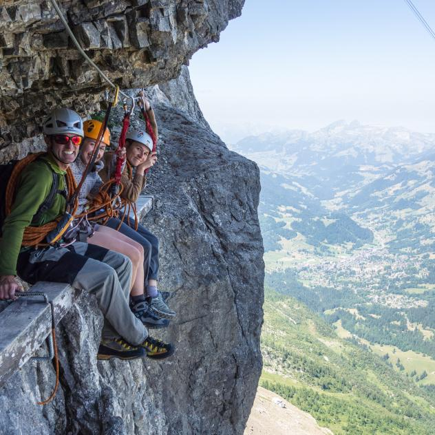Via Ferrata du Rocher Jaune