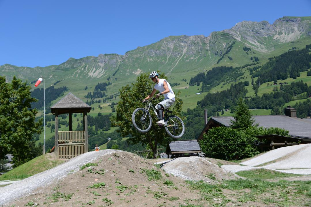 Pumptrack in Les Diablerets