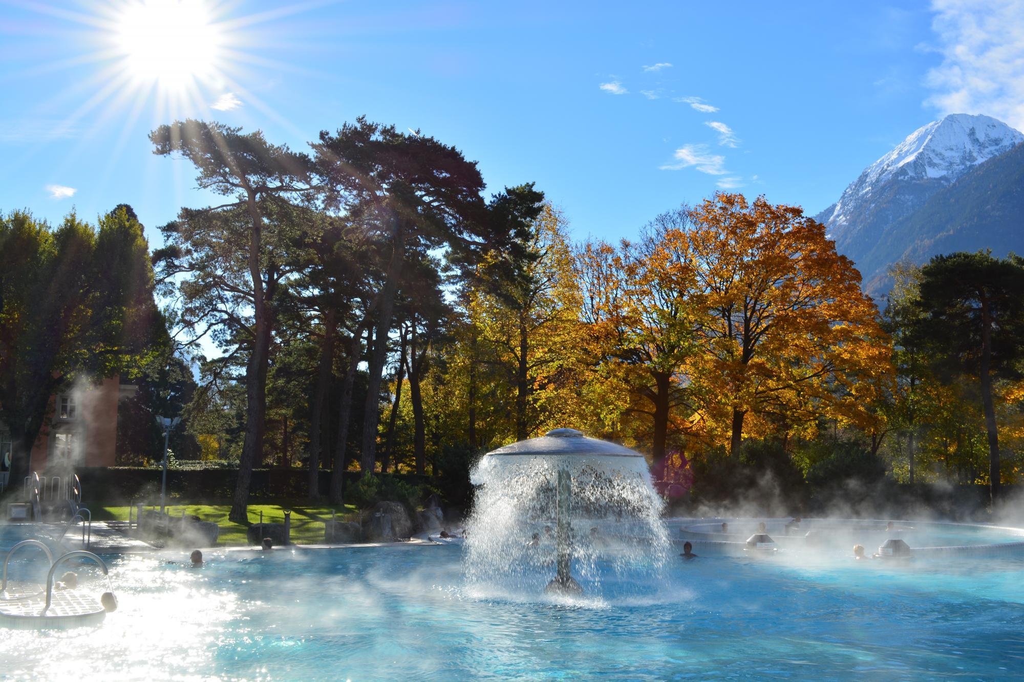 lavey les bains thermal spa villars gryon les diablerets bex switzerland