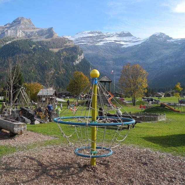 Playground in Diablerets