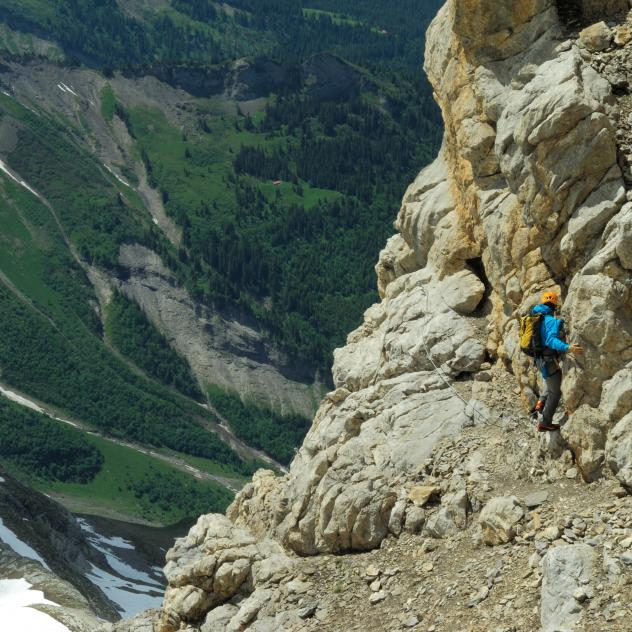 "Via Ferrata ""Dames Anglaises"""