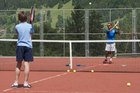 Tennis du Centre des Sports de Villars