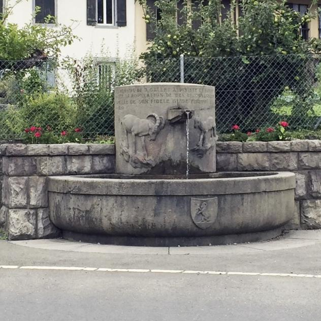 Fontaine du Glarey