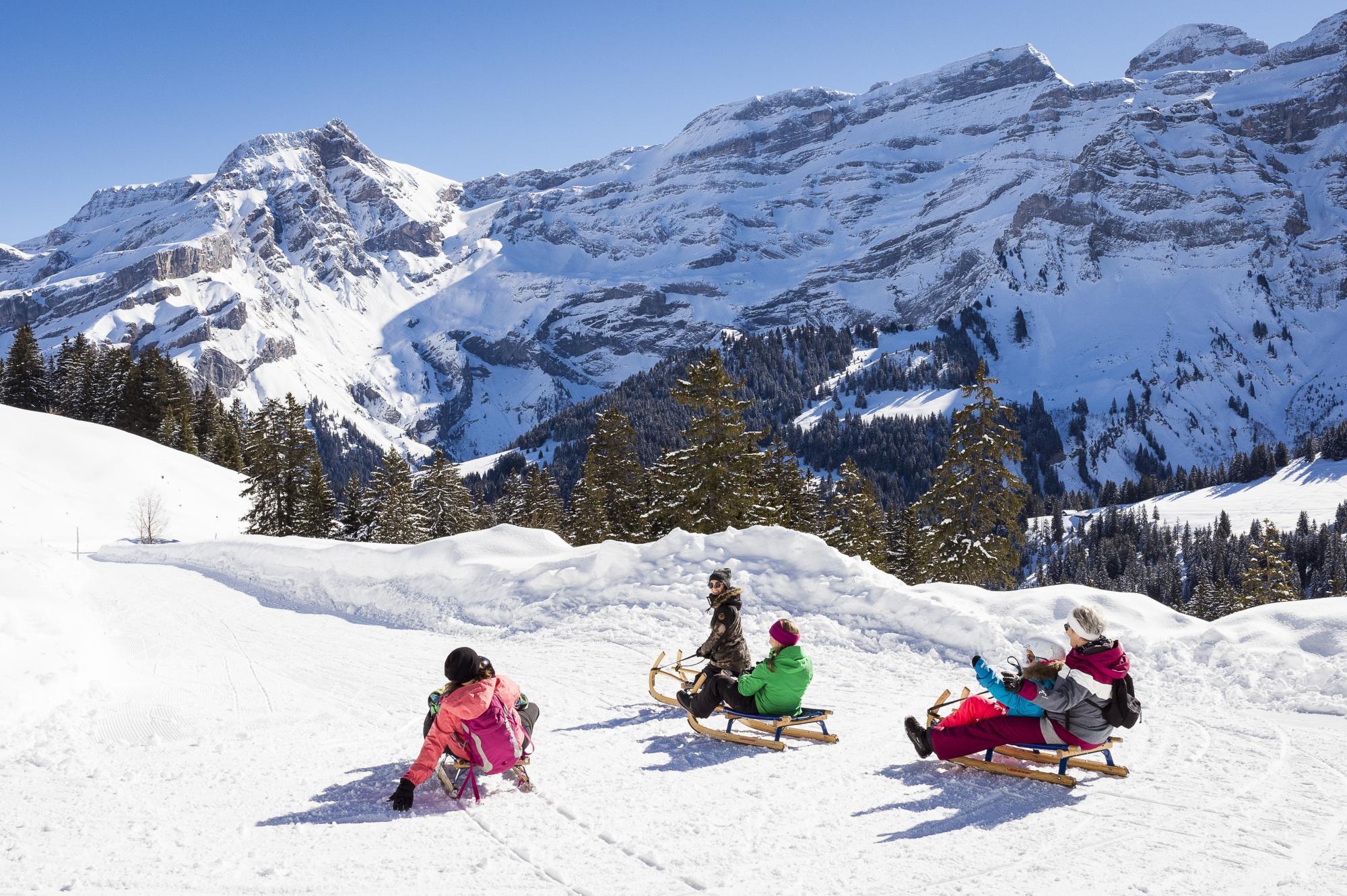 Funpark les diablerets villars gryon les diablerets bex suisse - Office tourisme diablerets ...