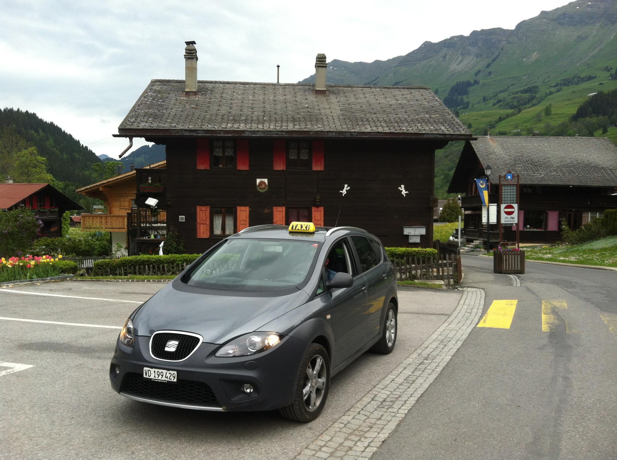 Taxis - Villars-Gryon – Les Diablerets – Bex (Switzerland)