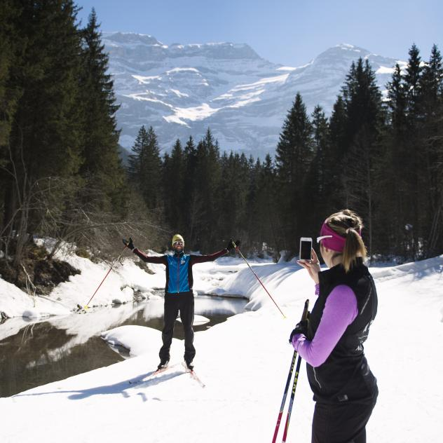 Cross-country skiing - Creux de Champs