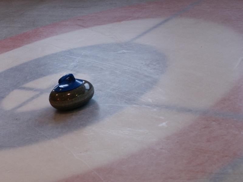 Curling in Diablerets
