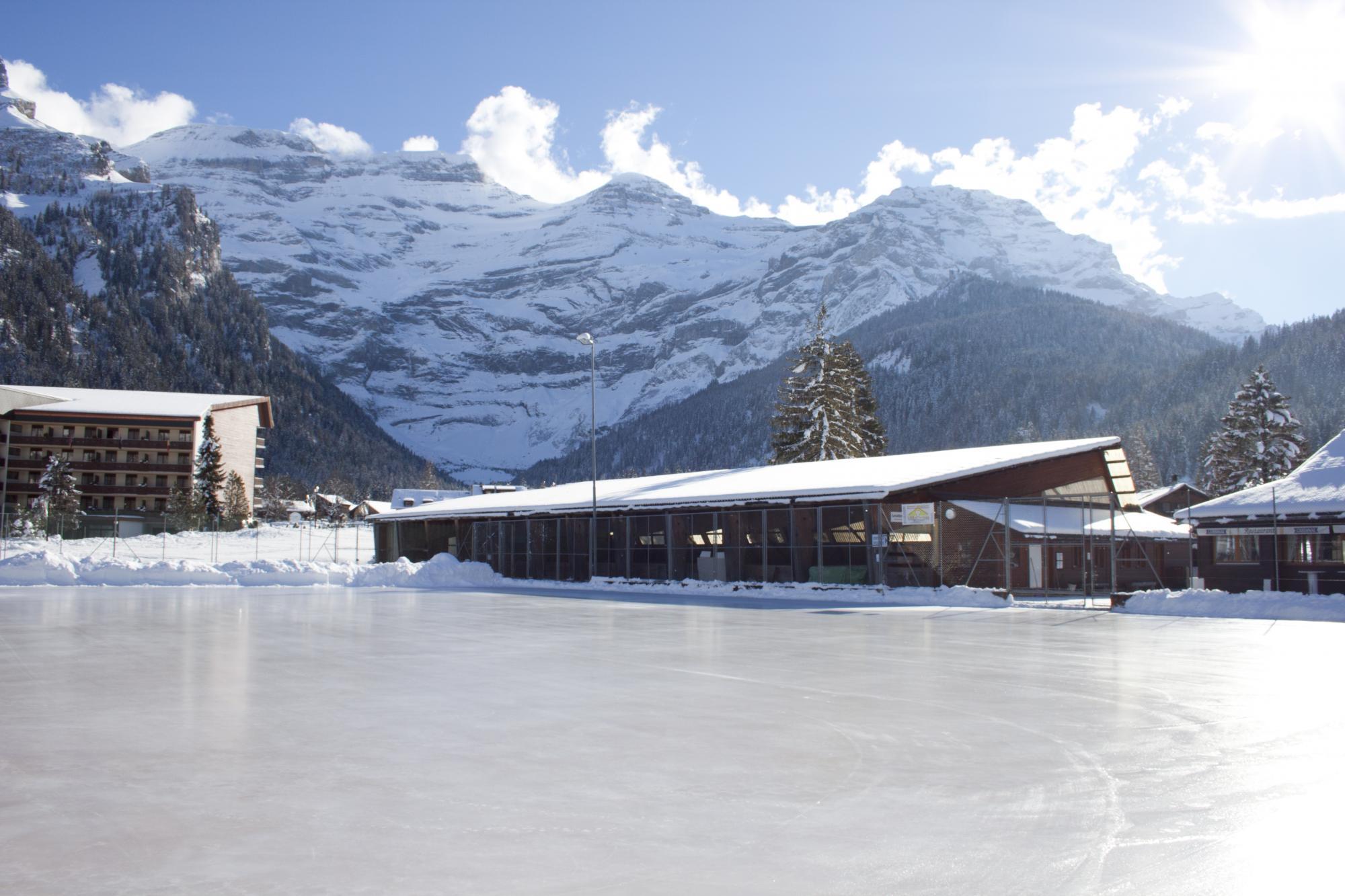 Patinoire des diablerets villars gryon les diablerets bex suisse - Office tourisme diablerets ...