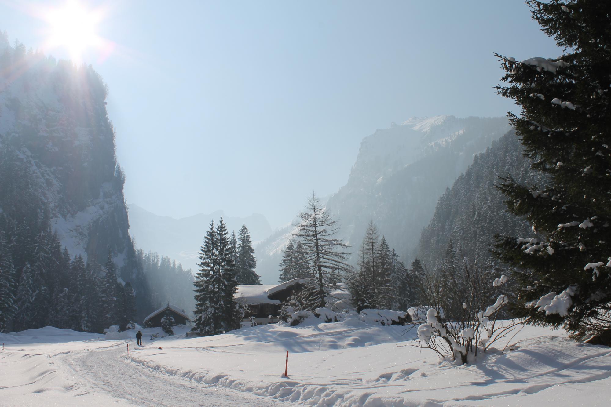 Pont-de-Nant - Villars-Gryon – Les Diablerets – Bex (Switzerland)