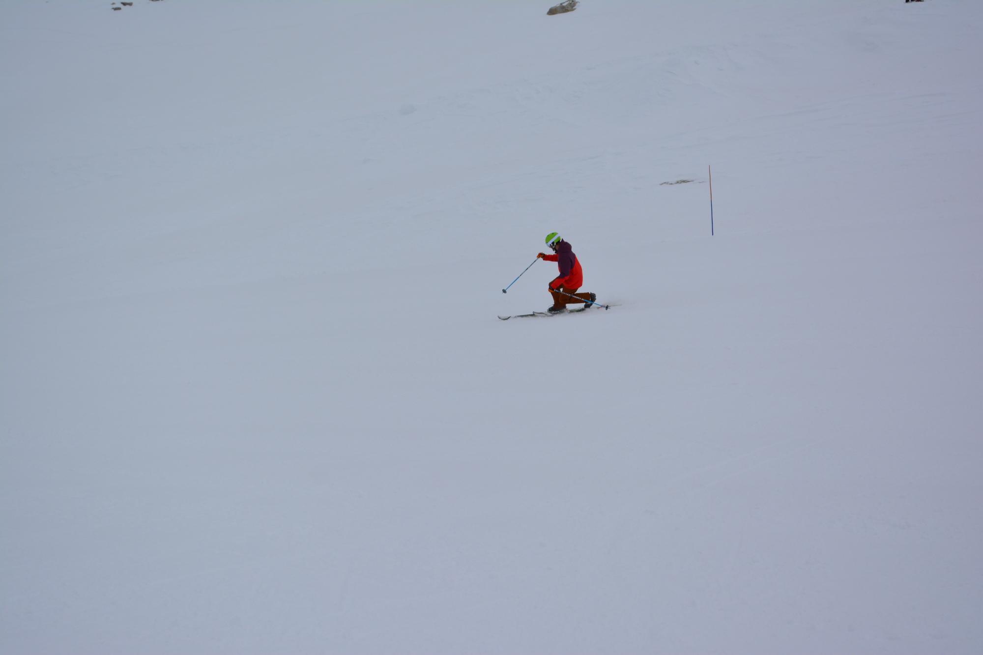Telemark skiing - Villars-Gryon – Les Diablerets – Bex (Switzerland)