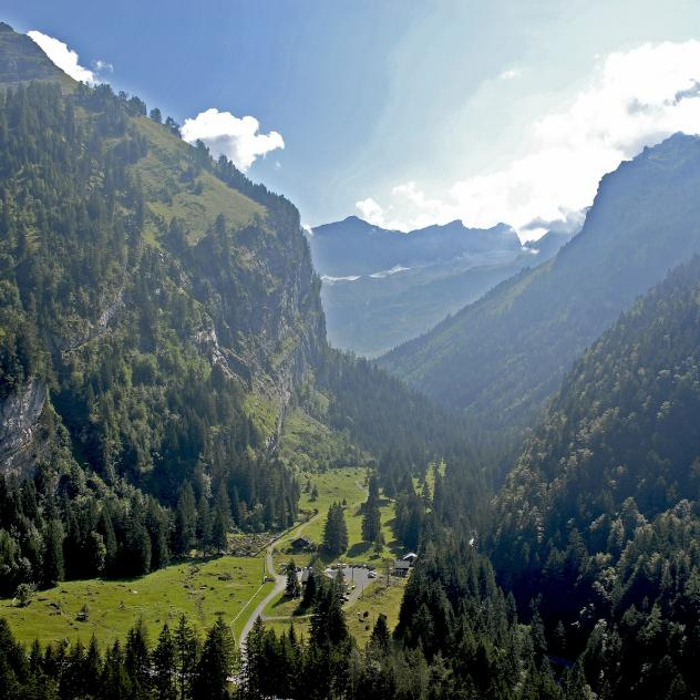 History of the landscape of Vallon de Nant