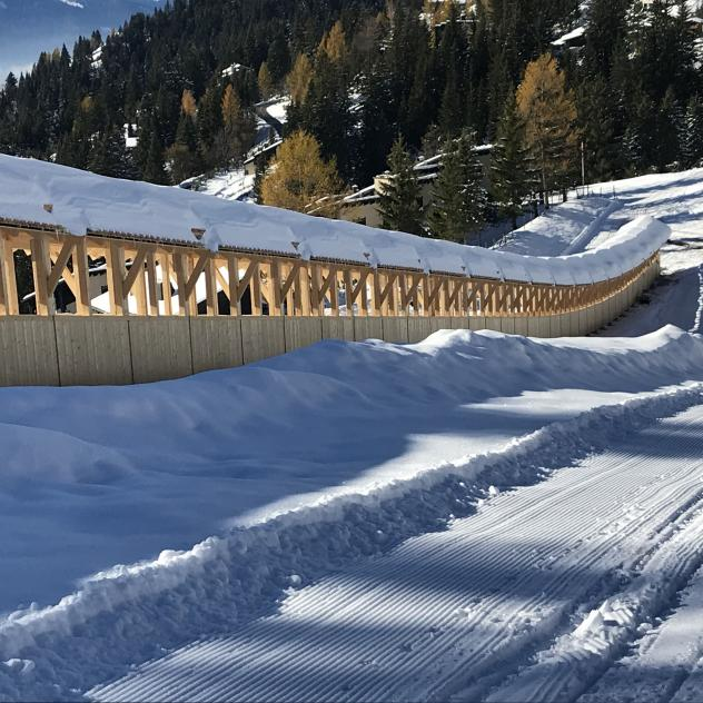 Pistes de luge de Frience