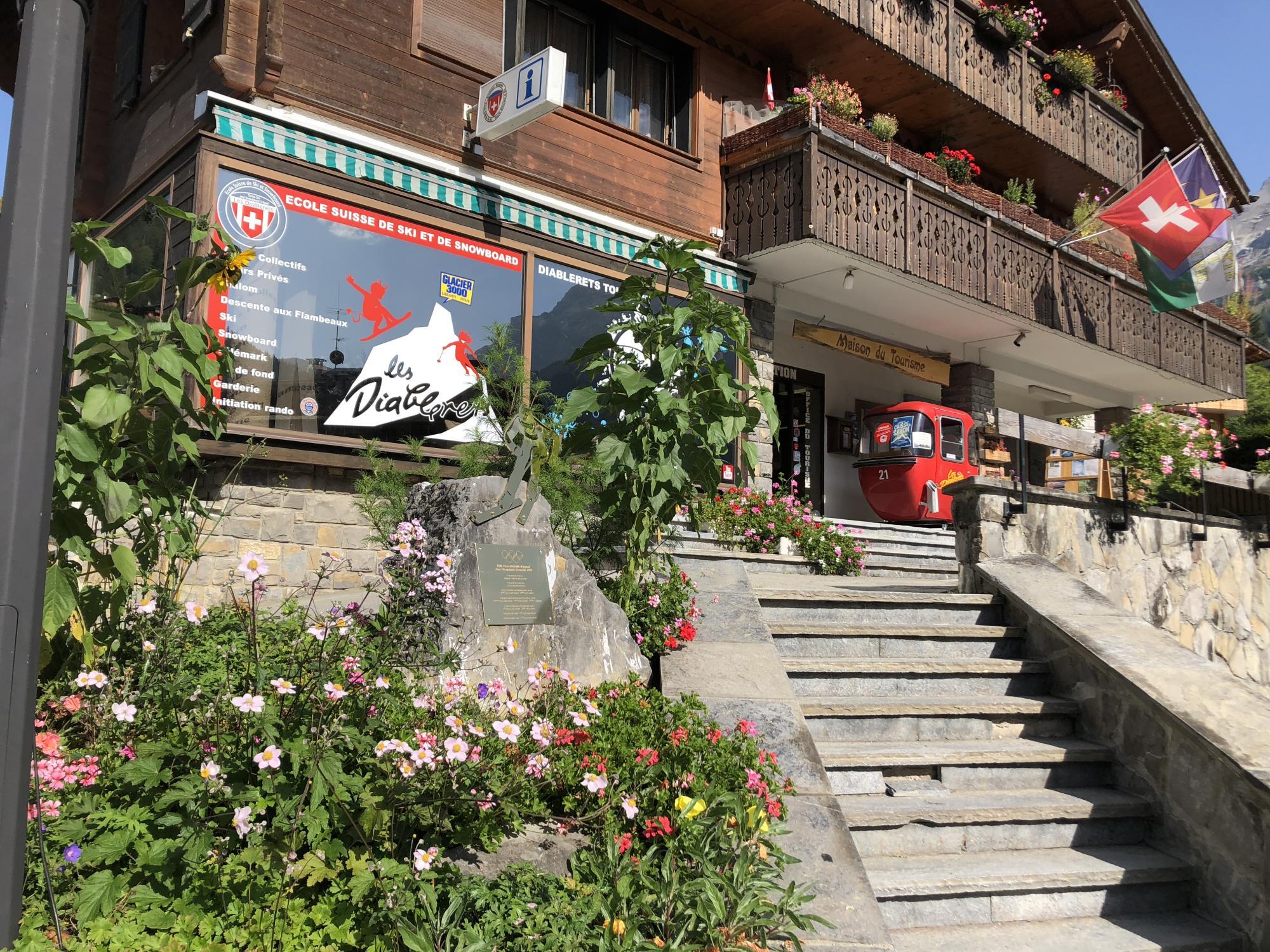 Les diablerets tourist office - Office tourisme diablerets ...