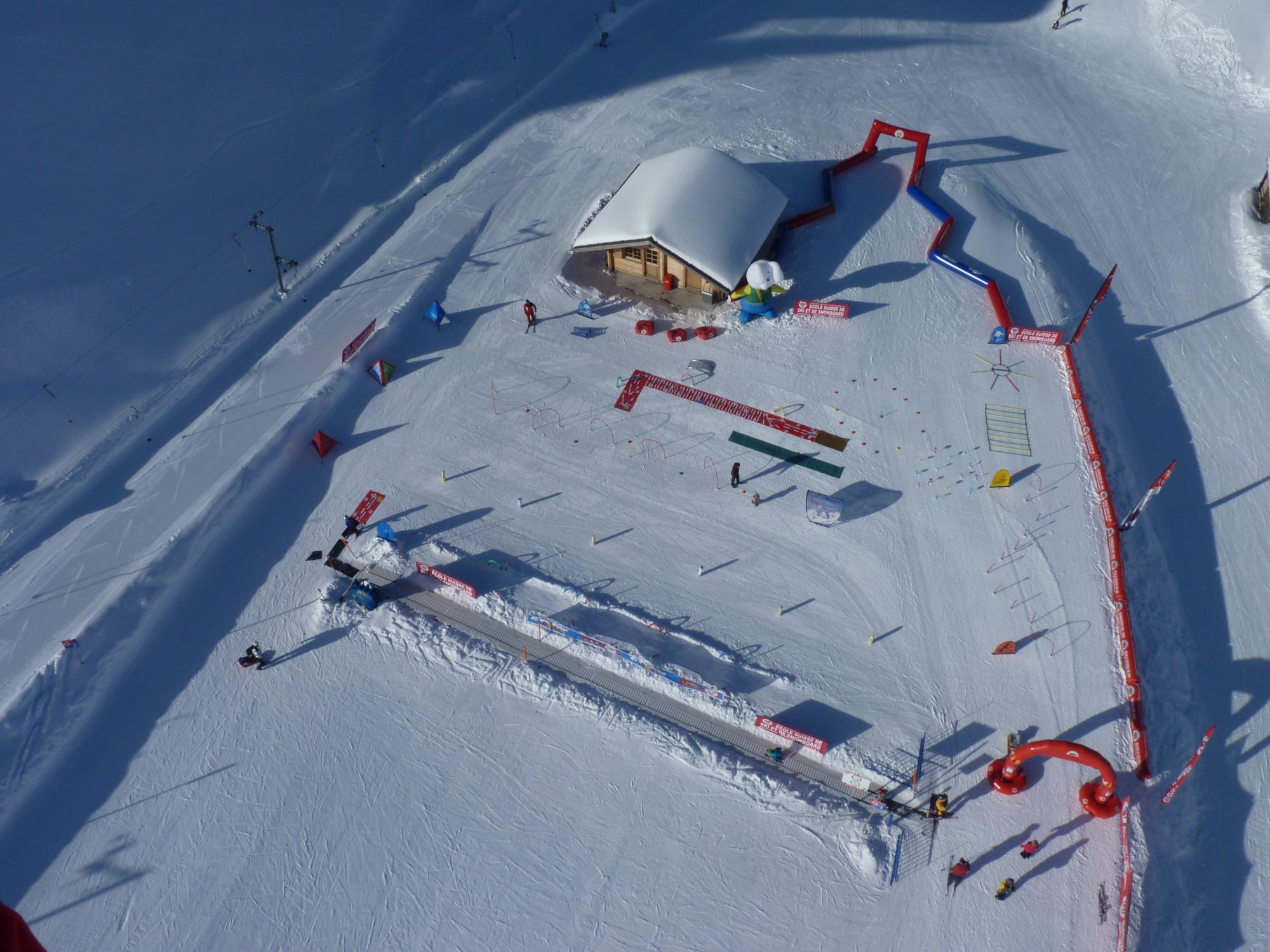 Schneekindergarten Schweizer Skischule Bretaye