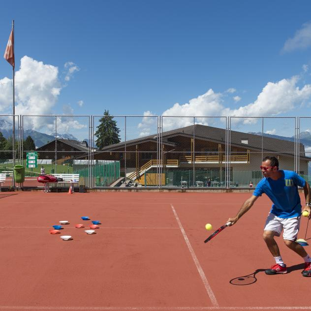 Sports Centre tennis courts