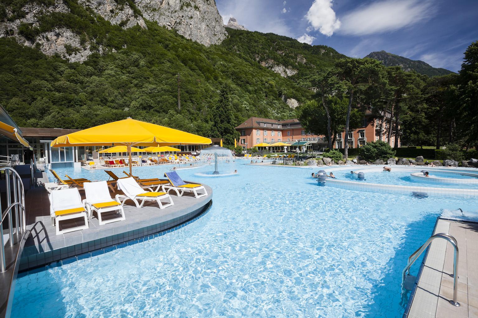 Lavey Les Bains Thermal Spa Montreux Riviera