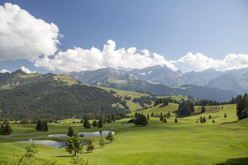 Almost 100 years of golf in villars