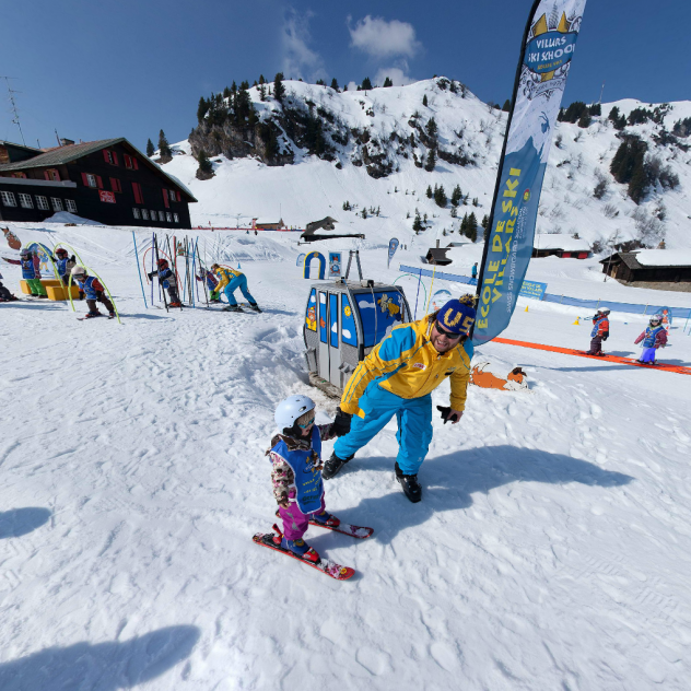 Villars Ski School Snow Village