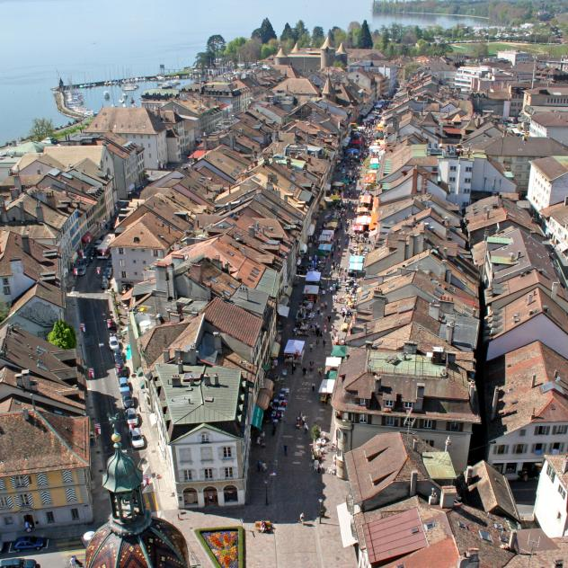 History of Morges