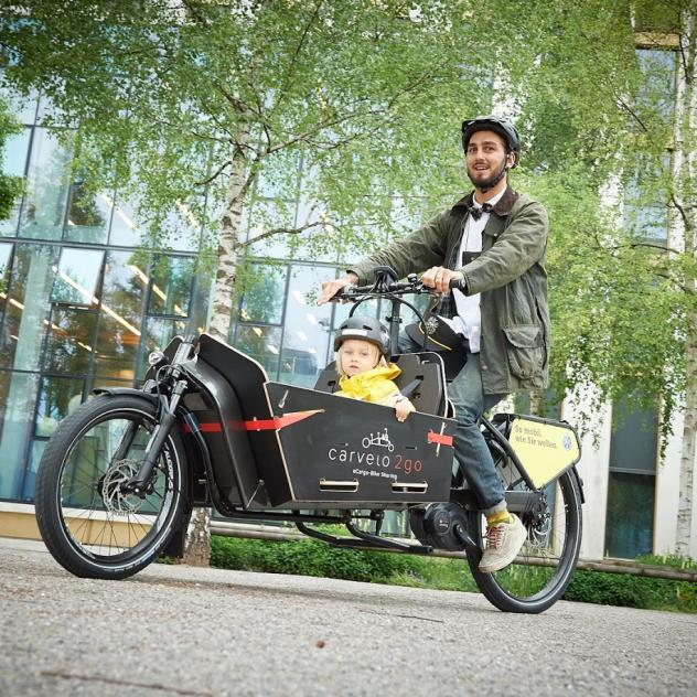 Carvelo 2go - electric bike-cargo