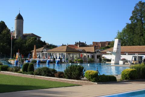 Aubonne swimming pool