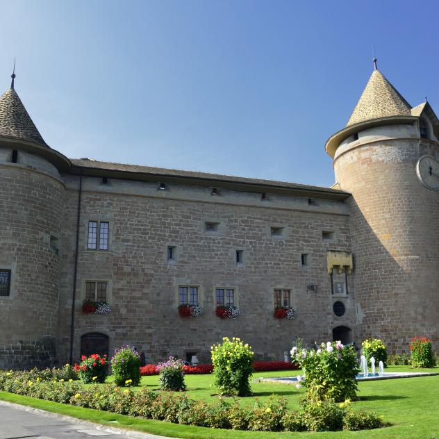 Museums in Morges Castle