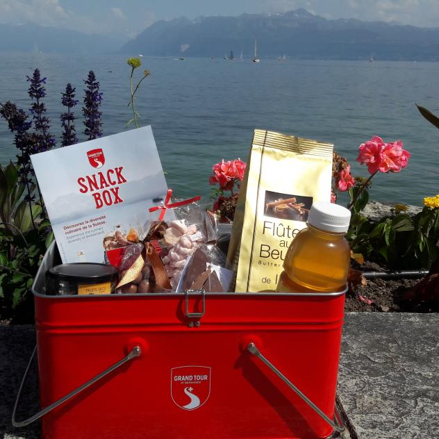 Die Grand Tour Snack Box in Morges
