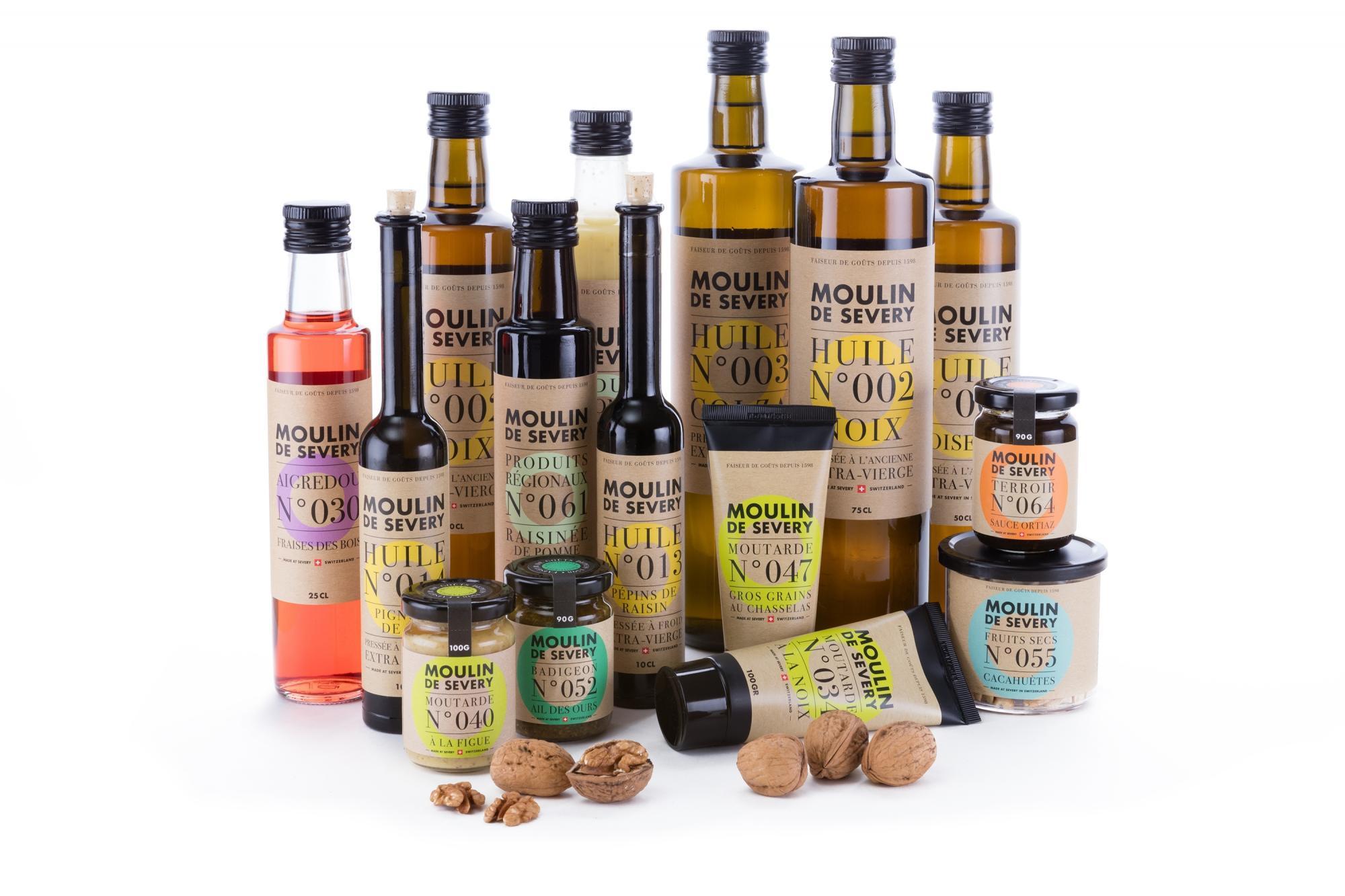 huile de noix severy
