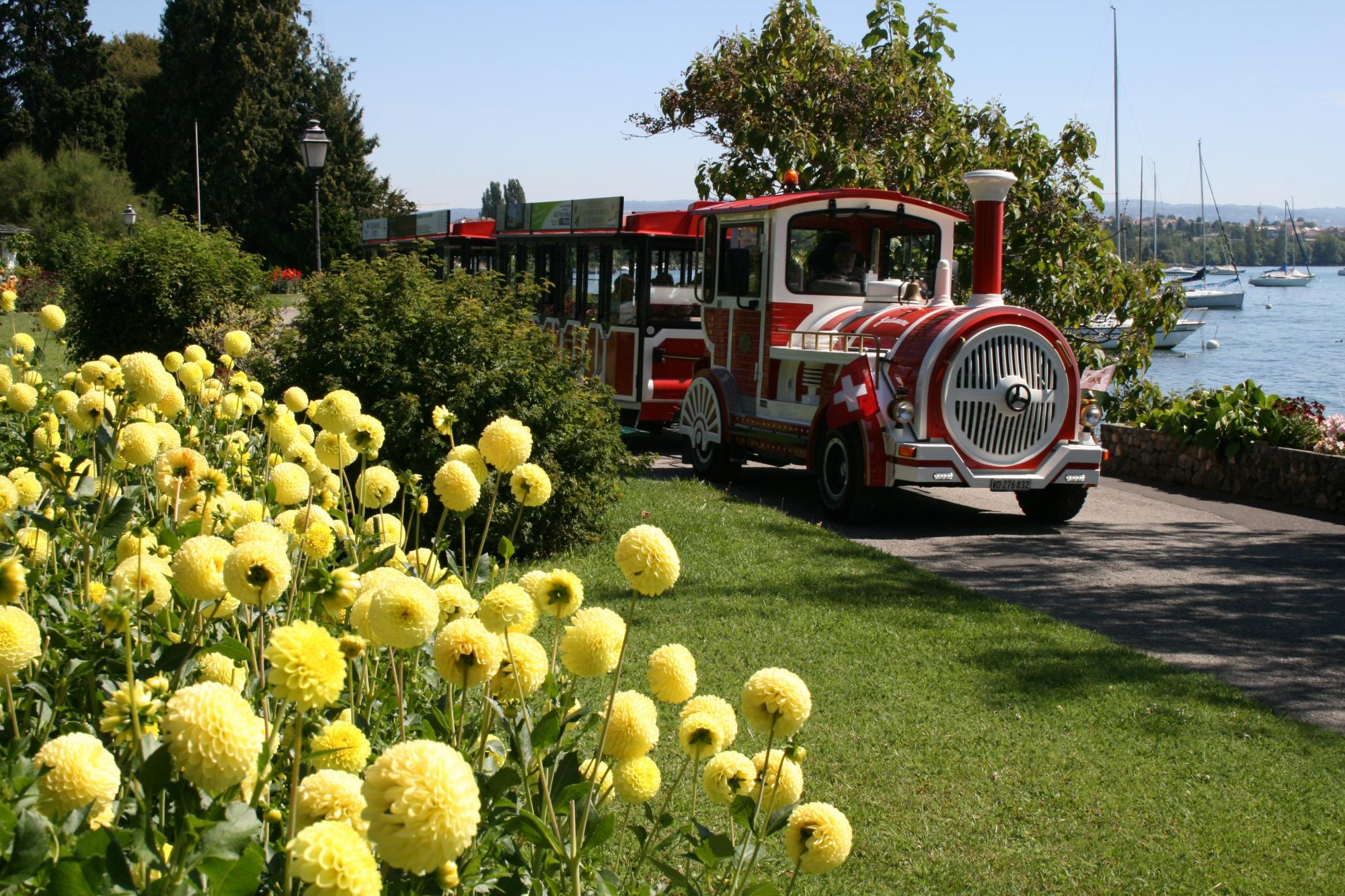 Tourist train, Morges