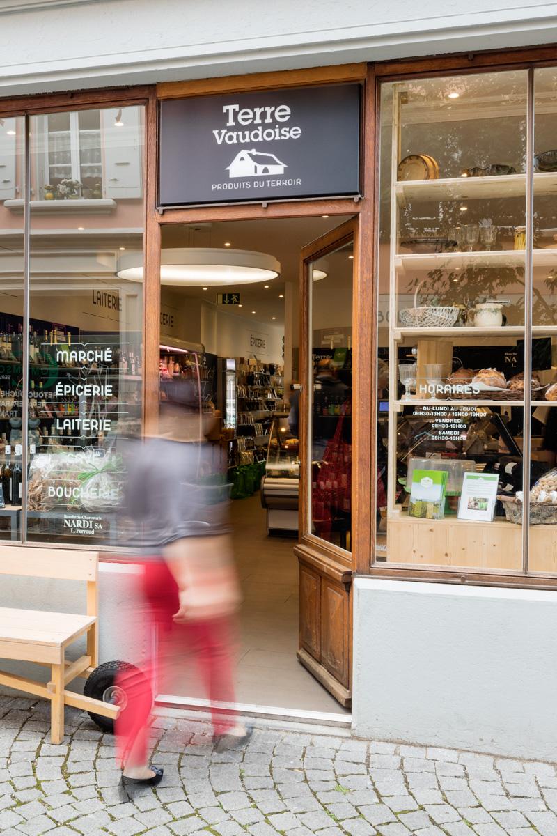 Terre Vaudoise - L'épicerie