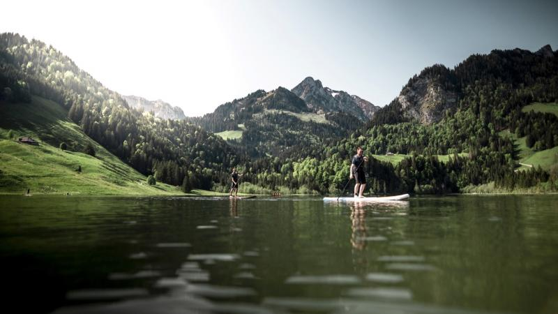 Stand Up Paddle sur le Lac Noir