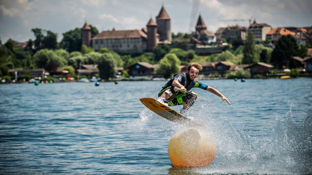 Wakeborad in Estavayer-le-Lac