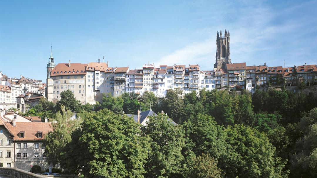 Fribourg - Pont St-Jean
