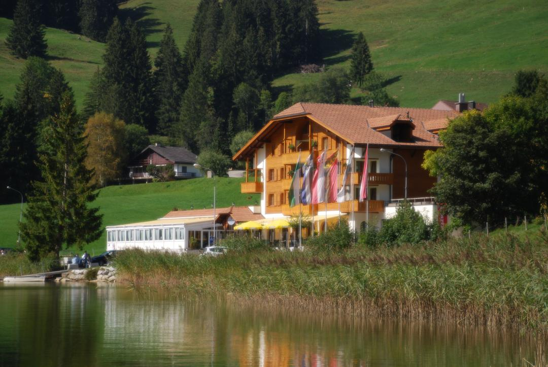 Hotels Schwarzsee and environment