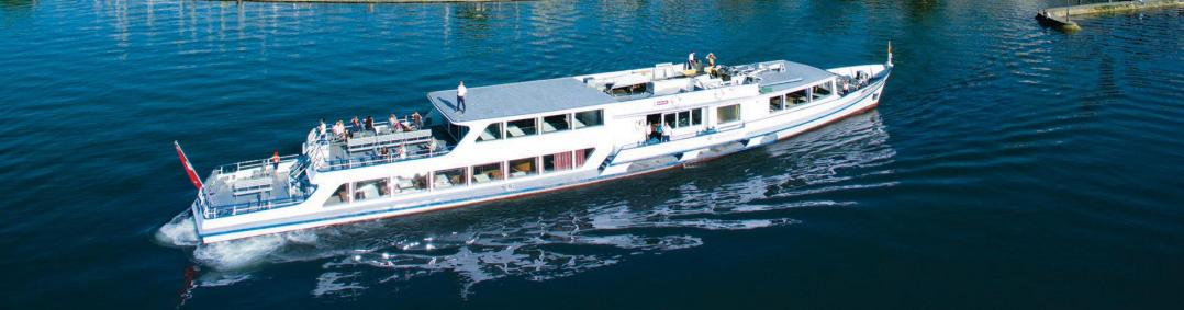 Cruise on the lake Murten