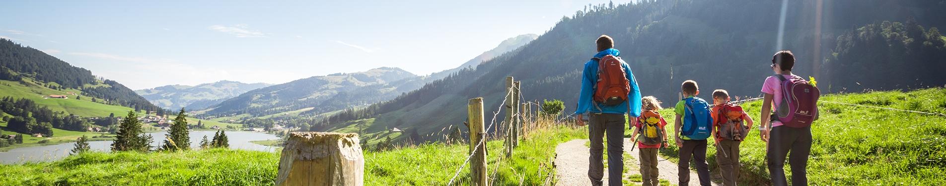Randonnée à Schwarzsee