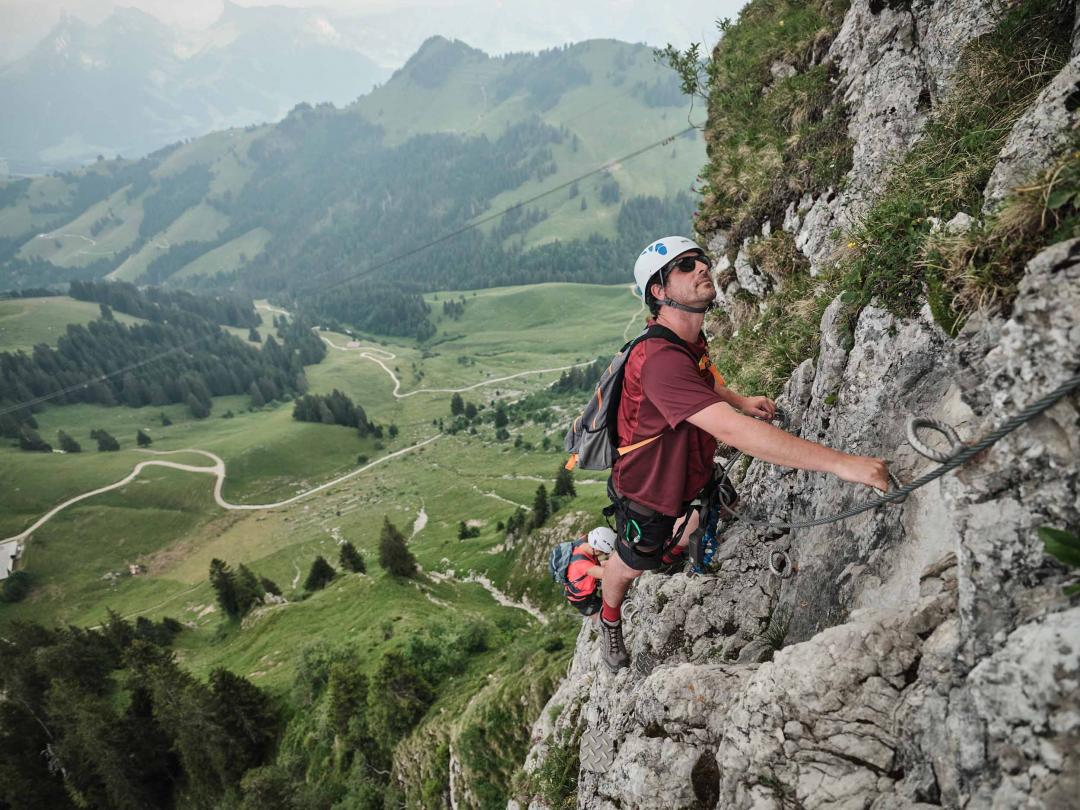 Via Ferrata Moléson