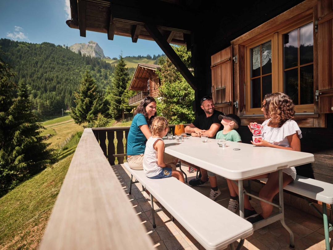 Chalets in Moléson - Family holiday