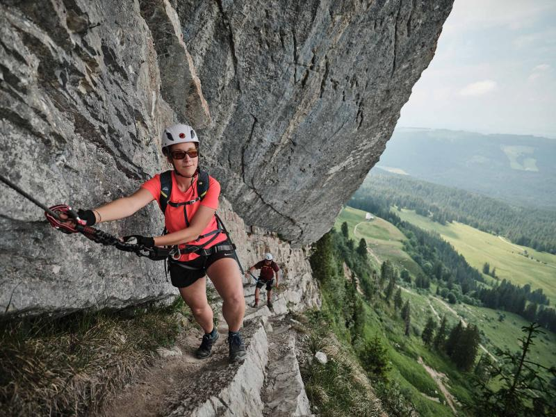 Via Ferrata Moleson